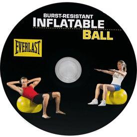 Custom Everlast Fitness Ball