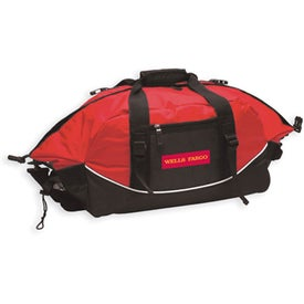 Branded Expandable Sports Duffle Bag