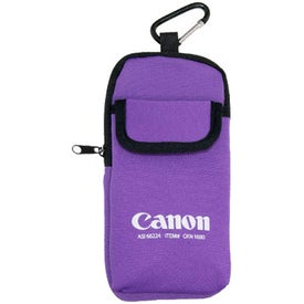 Monogrammed Expedition Electronic Holder with Carabiner