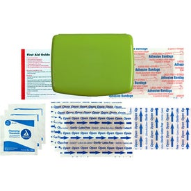 Imprinted Express No-Med First Aid Kit