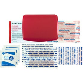 Express No-Med First Aid Kit Imprinted with Your Logo