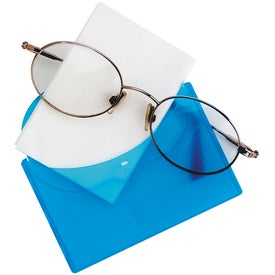 Eyeglass Cleaner and Case with Your Slogan