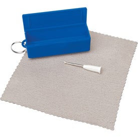 Eyeglass Tool With Cleaning Cloth Giveaways
