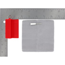 Advertising Eyeglass Tool With Cleaning Cloth