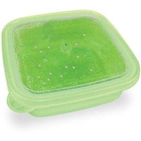 Promotional EZ Freeze Square Food Storage Container
