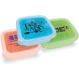 EZ Freeze Square Food Storage Container