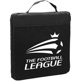"Fabric Stadium Cushion with Pocket (13.5"")"
