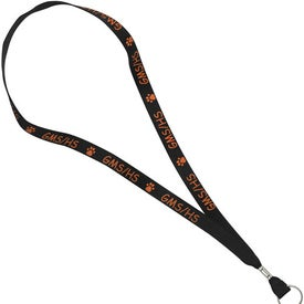 "Factory Direct Polyester Web Lanyard (5/8"")"