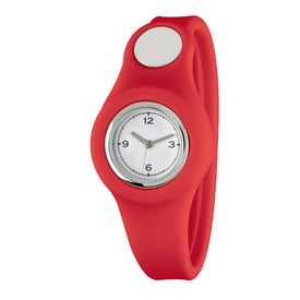 Fashion Forward Snap On Watch Analog for Advertising
