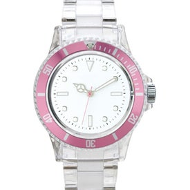 Branded Fashion Styles Transparent Unisex Watch