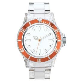 Printed Fashion Styles Transparent Unisex Watch