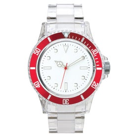 Fashion Styles Transparent Unisex Watch for Promotion