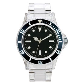 Branded Fashion Styles Transparent Unisex Watch