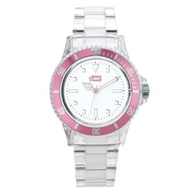 Company Fashion Styles Transparent Unisex Watch