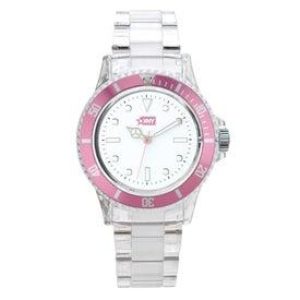Company Fashion Styles Transparent Unisex Watch