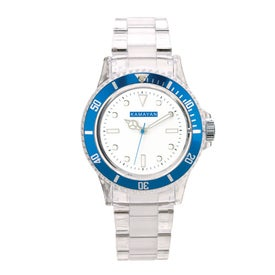Fashion Styles Transparent Unisex Watch Printed with Your Logo