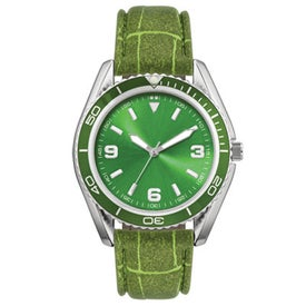 Water Resistant Fashion Styles Unisex Watch Printed with Your Logo