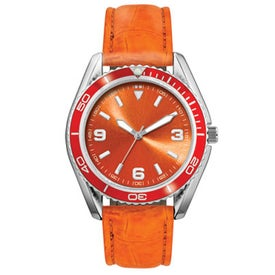 Logo Water Resistant Fashion Styles Unisex Watch