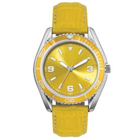 Printed Water Resistant Fashion Styles Unisex Watch
