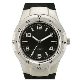 Matte Silver Fashion Styles Unisex Watch for Promotion