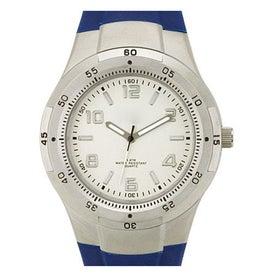 Branded Fashion Styles Matte Silver Unisex Watch