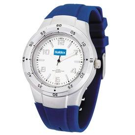 Fashion Styles Matte Silver Unisex Watch