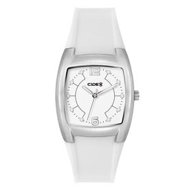 Brushed Silver Fashion Styles Unisex Watch