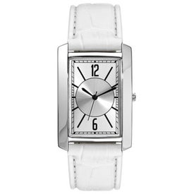 Polish Silver Fashion Styles Unisex Watch for Your Organization