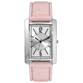 Imprinted Polish Silver Fashion Styles Unisex Watch