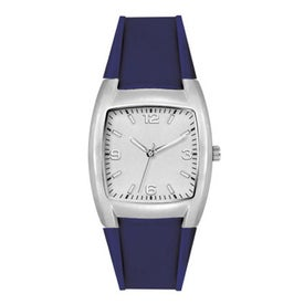 Fashion Styles Brushed Silver Unisex Watch for Your Church