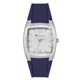 Fashion Styles Brushed Silver Unisex Watch