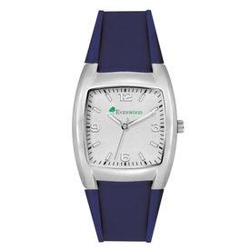Fashion Styles Brushed Silver Unisex Watch