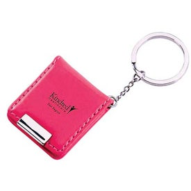 Faux Leather Keyholder with Photo Frame for Advertising