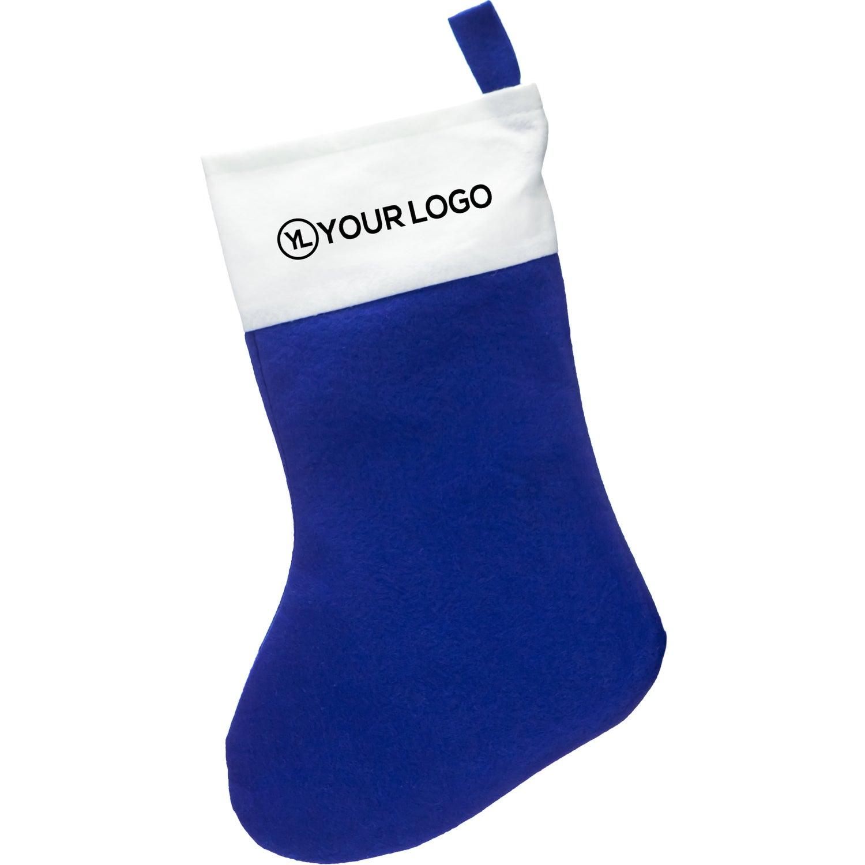 promotional felt christmas stockings with custom logo for 155 ea