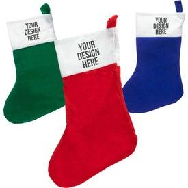 Felt Christmas Stocking for Your Organization