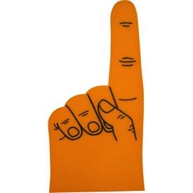 """Logo 16"""" Foam #1 Hand"""