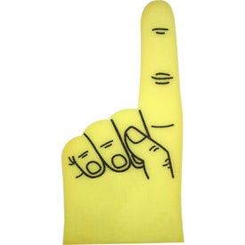 "34"" Foam #1 Hand Mitt for Your Organization"