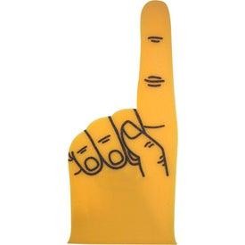 "Monogrammed 18"" Foam #1 Hand"