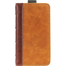 Field & Co. Book Case for iPhone 5 and 5S Imprinted with Your Logo