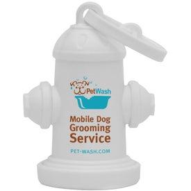 Company Fire Hydrant Pet Waste Bag Dispenser