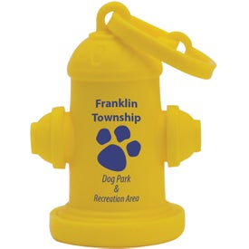 Fire Hydrant Pet Waste Bag Dispenser for Your Organization