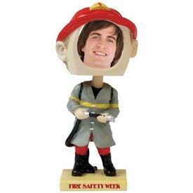 Fireman Single Bobble Head