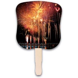 Customized Fireworks Hand Fan