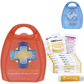 First Aid Kit with Handle for Your Organization