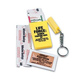 First Aid Keychain