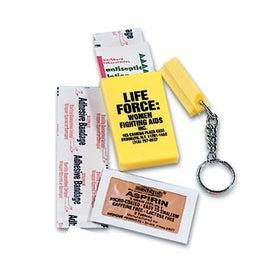 First Aid Keychain