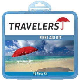 First Aid Kit Imprinted with Your Logo