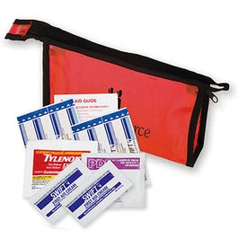 "First Aid Travel Kit (7"" x 4.25"" x 1.5"")"