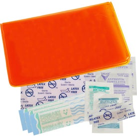 Monogrammed First Aid Traveler