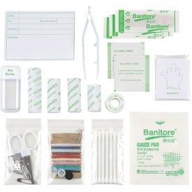 Branded Compact Emergency First Aid Kit